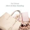 21-01-001_Mom _ Baby Handbag – Melaine Nude 3