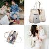 21-01-001_Mom _ Baby Handbag – Melaine Nude 7