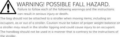 Warning Instructions