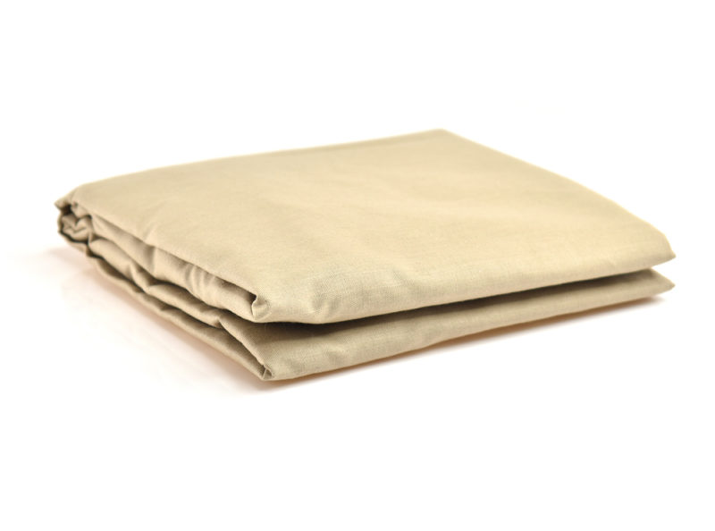 STANDARD CAMP COT FITTED SHEETS